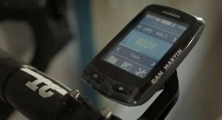 GPS-Geräte Garmin Edge 510 und 810
