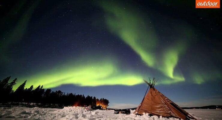 Himmlisches Schauspiel: Polarlichter