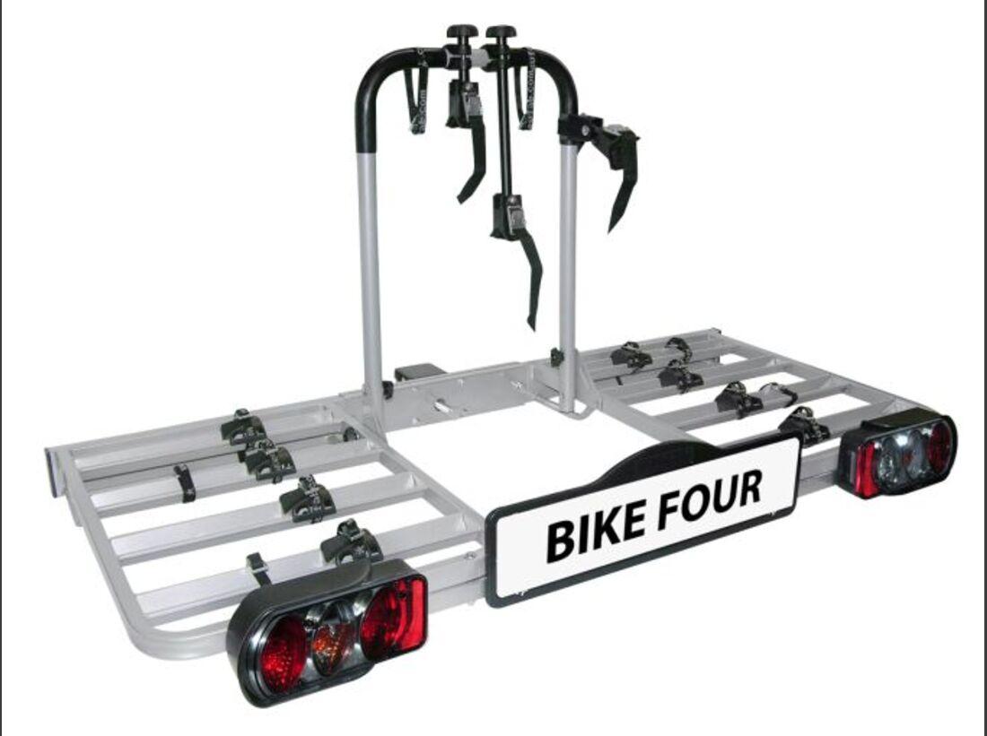 MB Fahrradträger Marktübersicht Anhängerkupplungsträger 2016 Eufab Bike Four