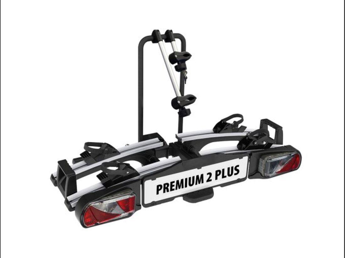 MB Fahrradträger Marktübersicht Anhängerkupplungsträger 2016 Eufab Premium II Plus