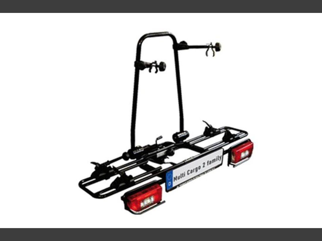 MB Fahrradträger Marktübersicht Anhängerkupplungsträger 2016 MFT Multi Cargo 2 Family