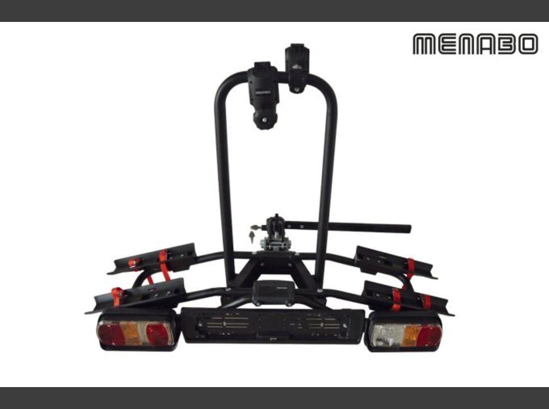 MB Fahrradträger Marktübersicht Anhängerkupplungsträger 2016 Menabo Naos Rapid