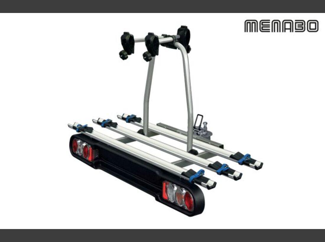 MB Fahrradträger Marktübersicht Anhängerkupplungsträger 2016 Menabo Project Tilting 3