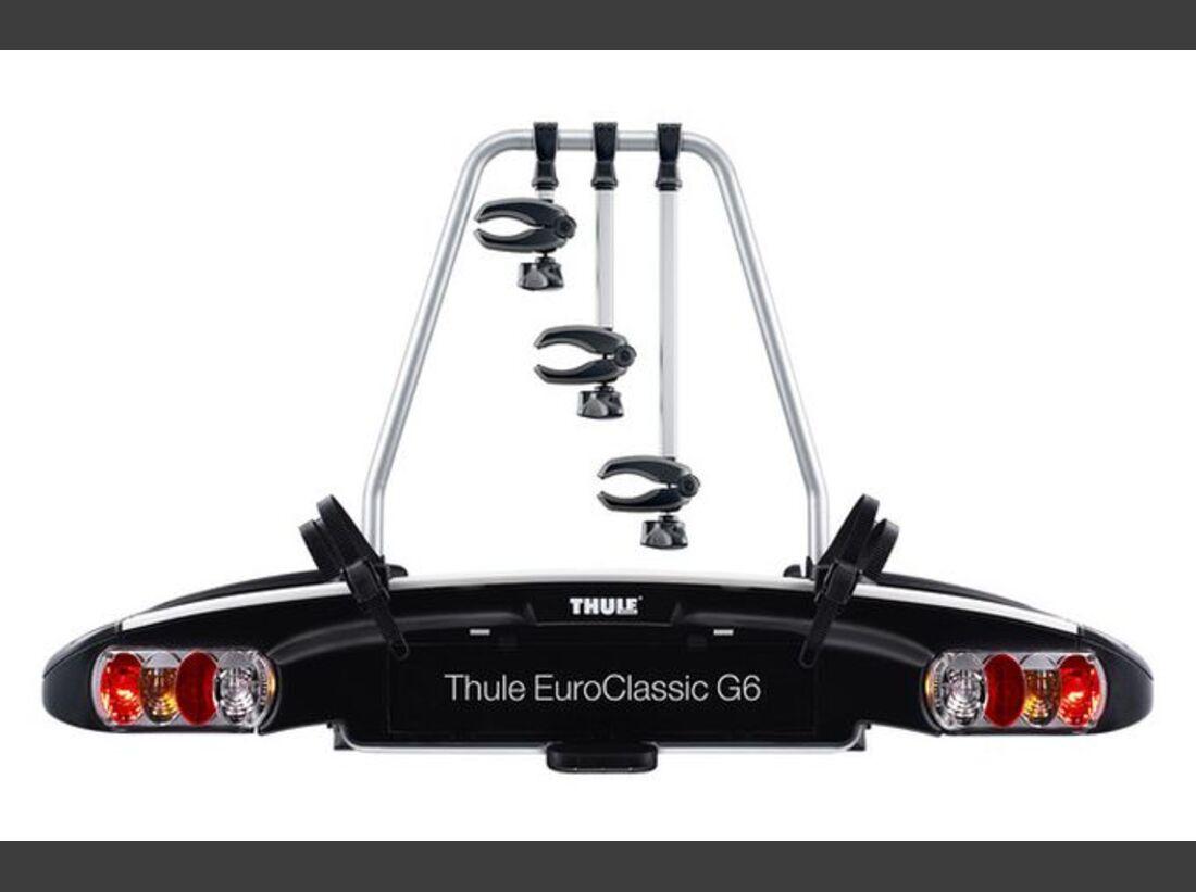 MB Fahrradträger Marktübersicht Anhängerkupplungsträger 2016 Thule EuroClassic G6 929