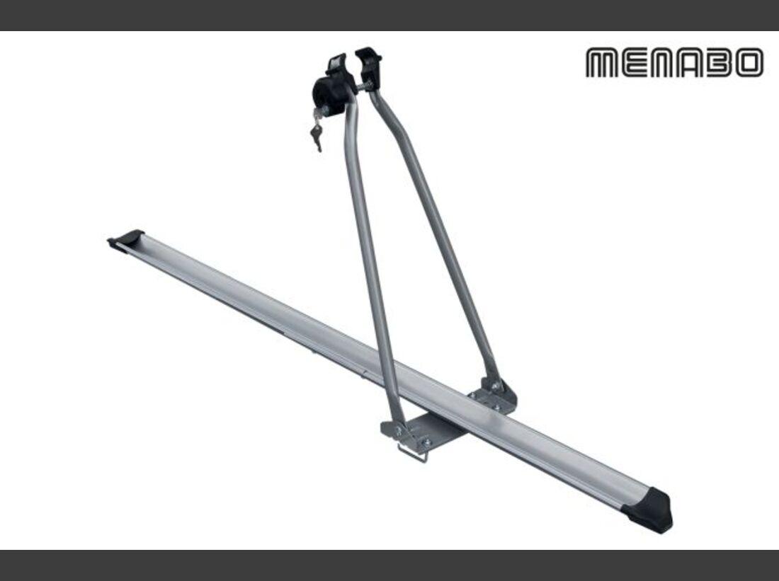 MB Fahrradträger Marktübersicht Dachträger 2016 Menabo Top Bike Lock