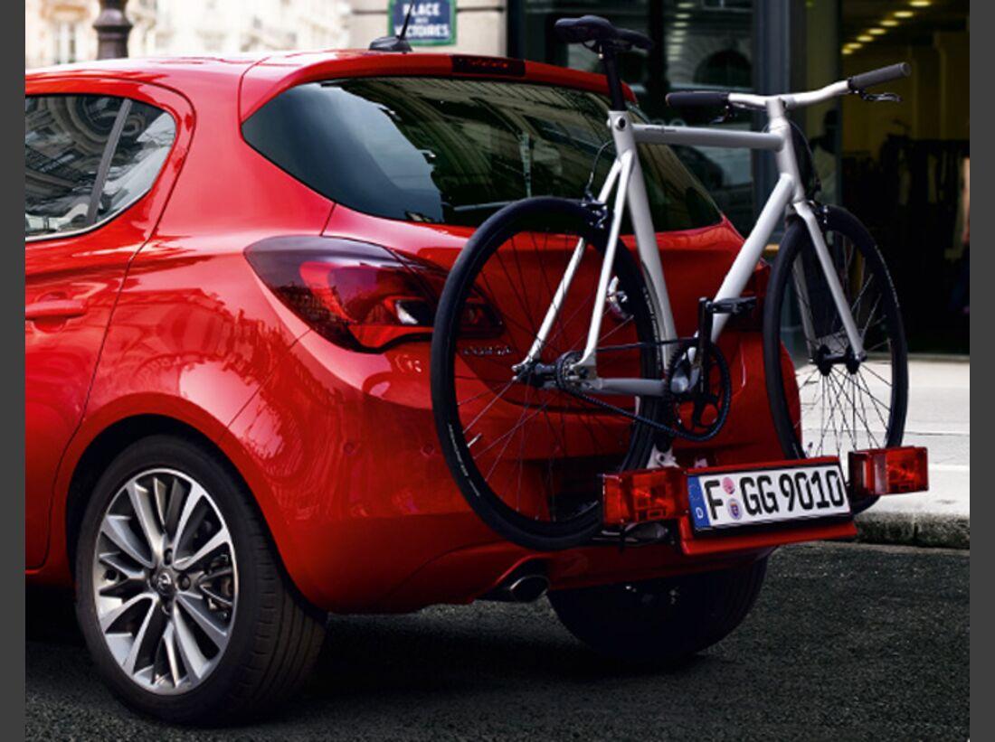 MB Fahrradträger Martübersicht Deichselträger 2016 FlexFix Opel Corsa