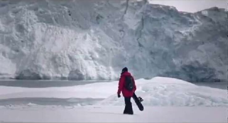 Mission Antarctic - Expedition mit Snowboarder Xavier de Le Rue
