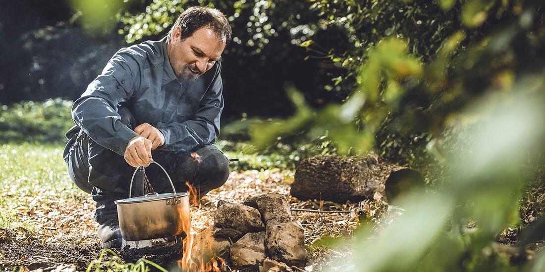OD 0419 Grubenfeuer Infos Bushcraft Camping Kochen Teaserbild
