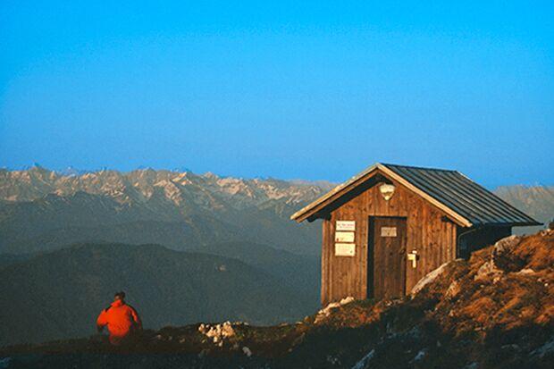 OD 0716 Wilde Hütten Benediktenwand Gipfelhütte