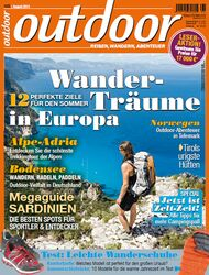 OD 0813 outdoor Heft Titel Magazin Cover August