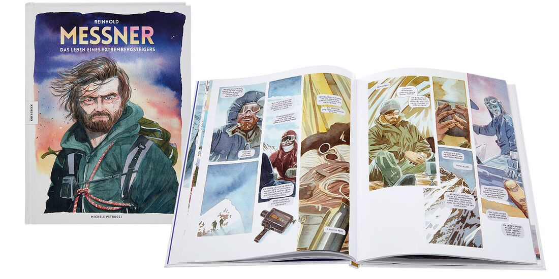 OD 0818 Buchtipp Reinhold Messner Graphic Novel