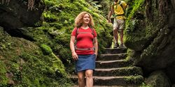 OD 0918 Reise Böhmische Schweiz Tour 1 Prebischtor