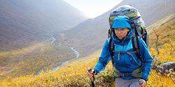 OD 1012 Herbstwandern Regenschutz Regenkleidung Trekking