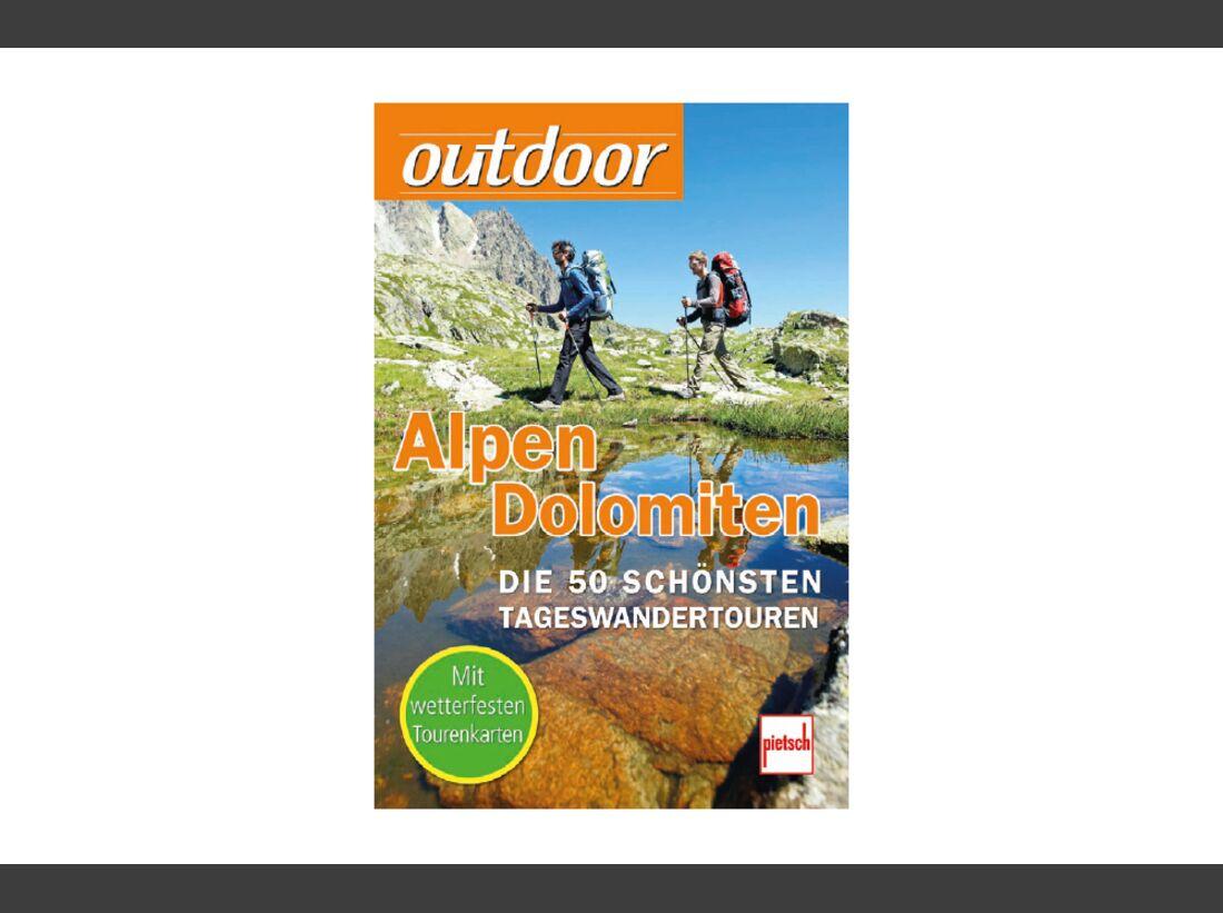OD 1111 outdoor Buch Buecher Alpen Dolomiten
