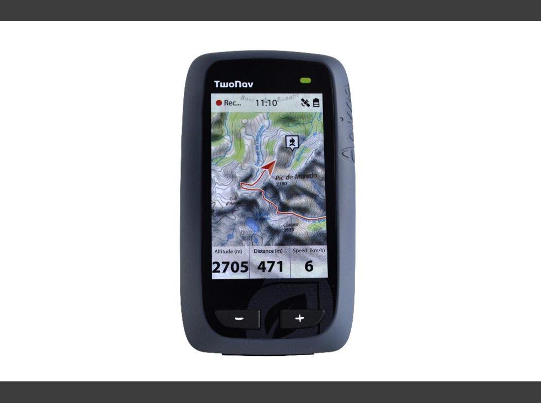 OD 1116 GPS Geräte Test Twonav Anima