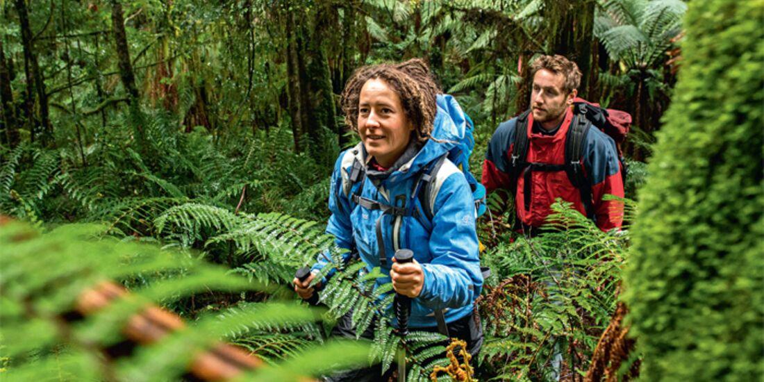 OD 1214 Traumziel Tasmanien Australien Trekking Treks