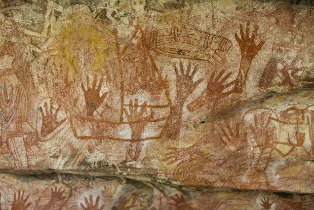OD 2011 Australien Hoehlenmalerei (jpg)