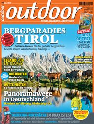 OD 2014 06/14 Heft-Cover Outdoor Titelbild