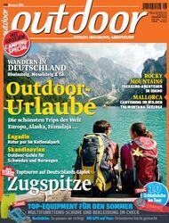 OD 2014 August Titel Cover Heft Zugspitze