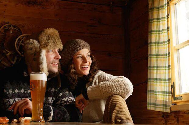 OD 2014 Bayern Naturgenuss Winter Ski Langlauf Schneeschuh Hütten