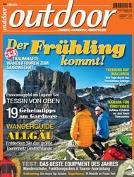 OD 2014 März Heft Titel Cover outdoor