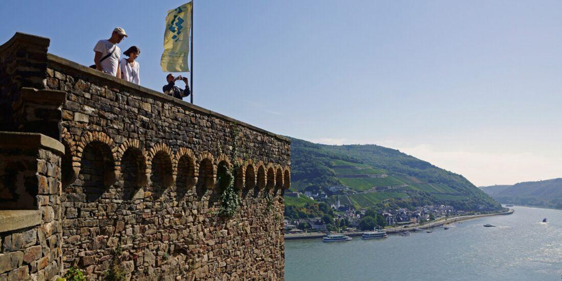 OD 2016 Rhein Burgen Weg Burg Rheinstein