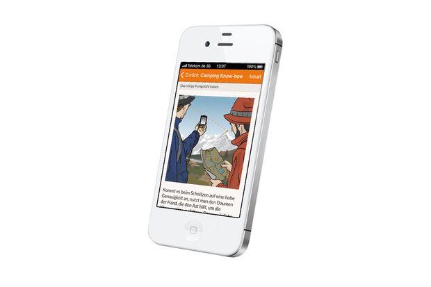 OD 2016 outdoor App Freisteller Handy iphone