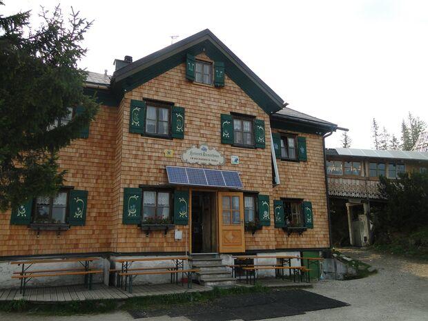 OD 2017 Heinrich-Kiener-Haus Hütte Salzburger Land