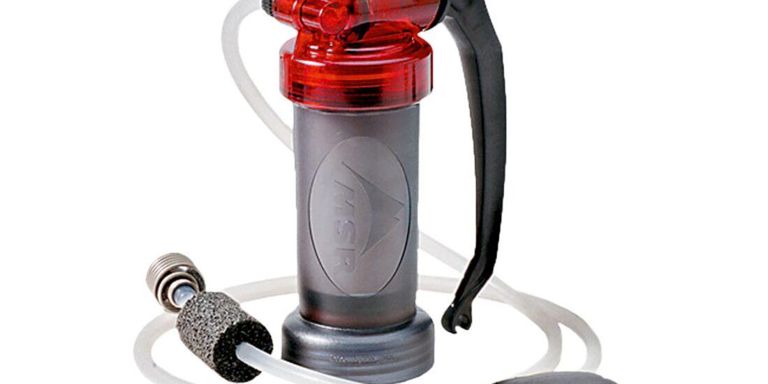 OD Basislager 0111 Trinkwasserfilter Aktivkohle Msr Miniworks EX