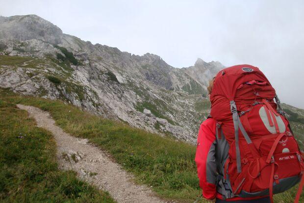 OD Bergtour Nebelhorn Alpen