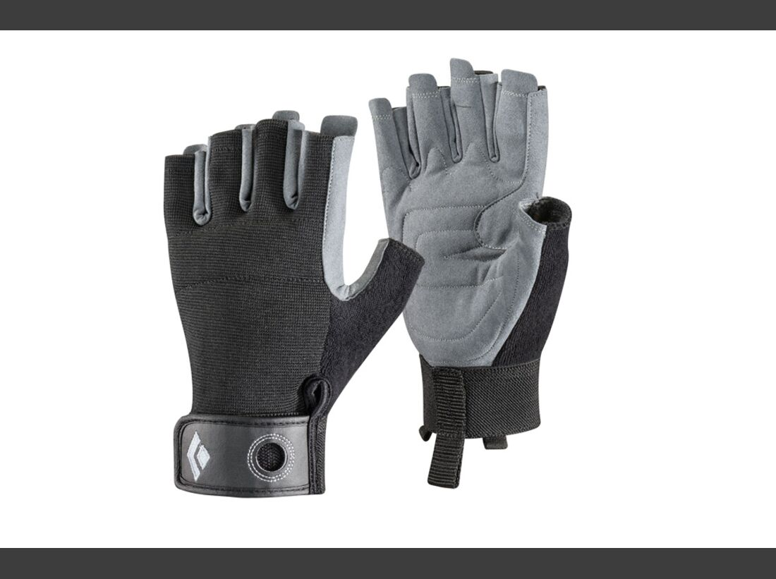 OD Black Diamond Crag half-finger gloves