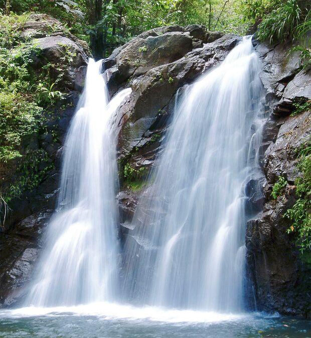 OD Frankreich Martinique Wasserfall