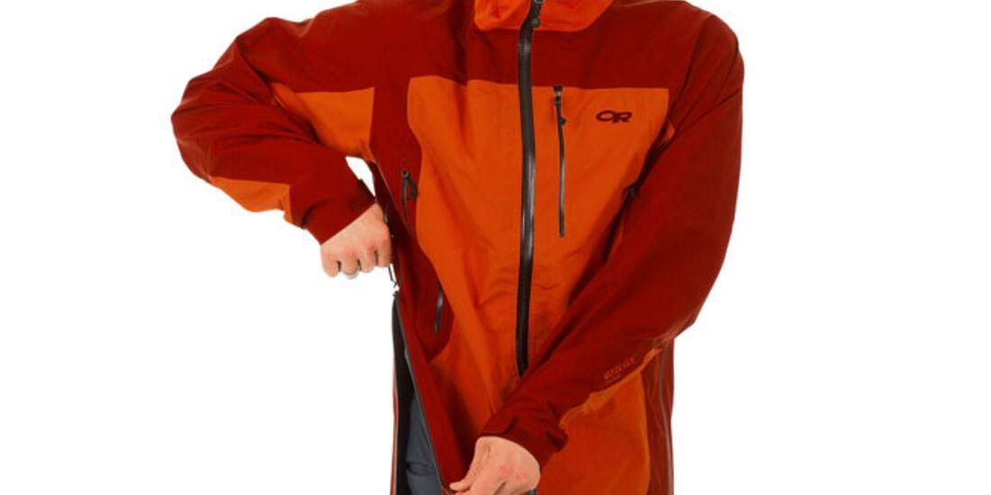 OD Funktionsjacken-Test - Outdoor Research Mentor Jacket