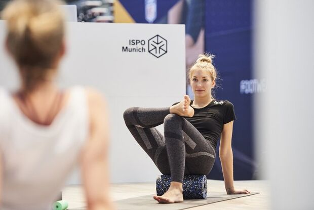OD ISPO 2019 Yoga Messe Neuheiten Fitness Sport