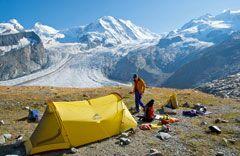 OD Praxistest: Campen auf Gletscherhöhe t