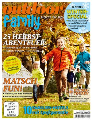 OD Sonderheft 2013 Titel Magazin Cover Family Familie Kinder