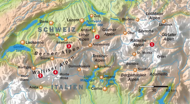OD Traumwege durch die Schweiz - alle Infos