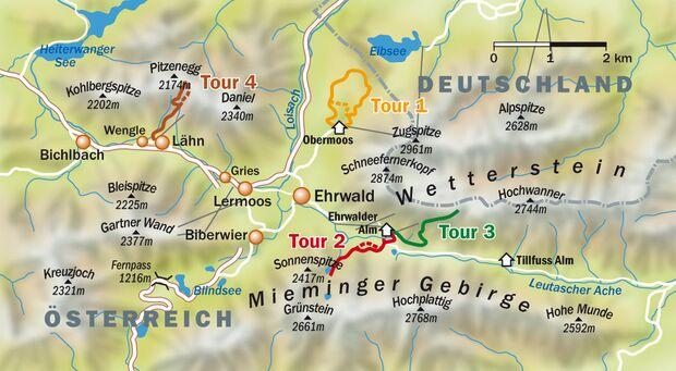 OD Zugspitze Karte