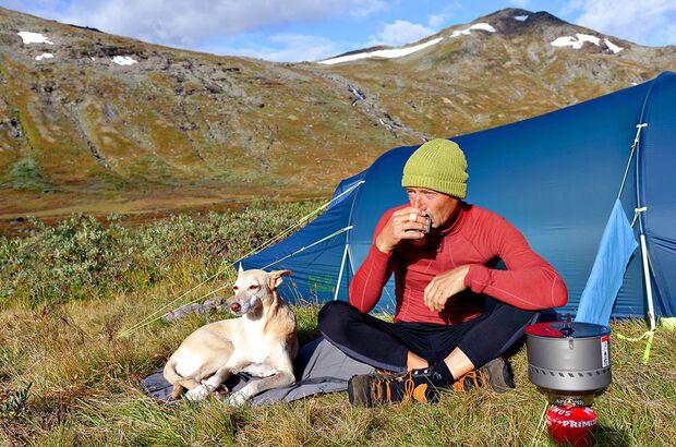 OUTDOOR Redakteur Boris Gnielka im Jotunheimen-Nationalpark in Norwegen