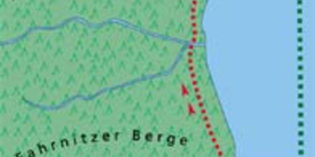 Ostsee Tour 3 Karte