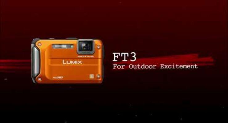 Outdoor-Kamera: Panasonic Lumix DMC FT3