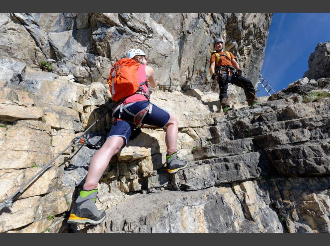 Praxistest in den Alpen: Bergschuhe  12