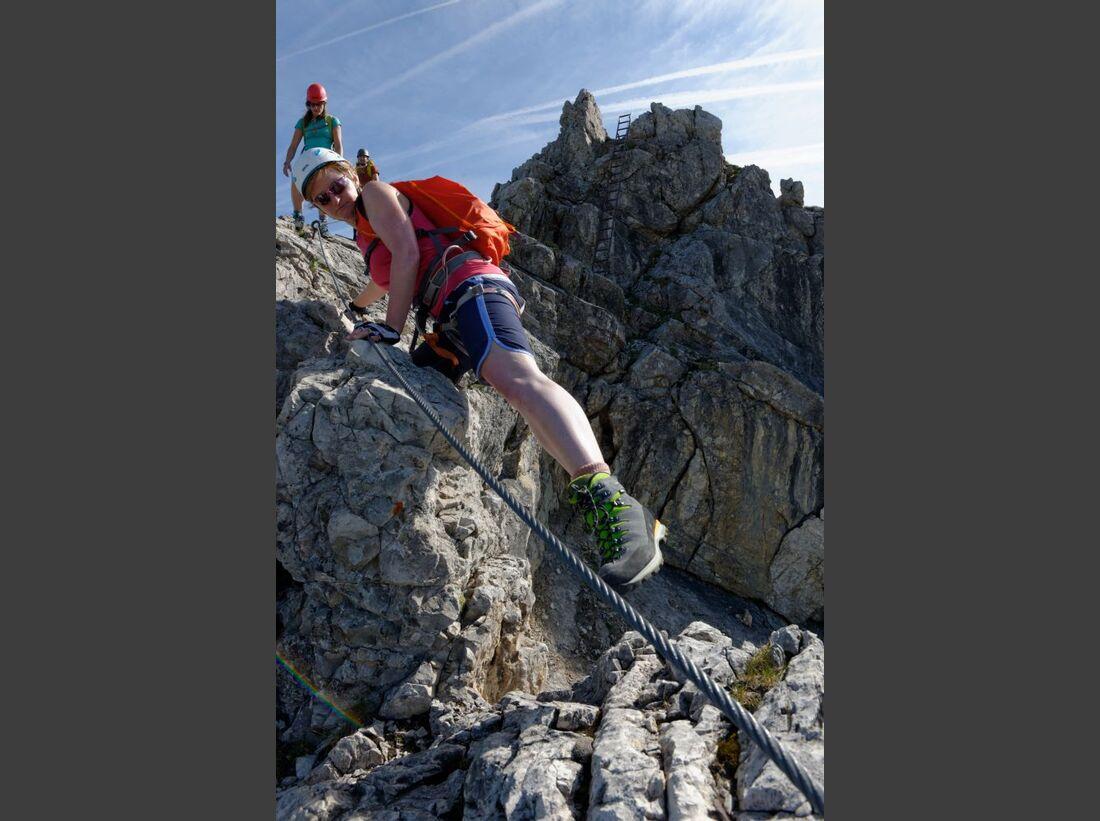 Praxistest in den Alpen: Bergschuhe  34