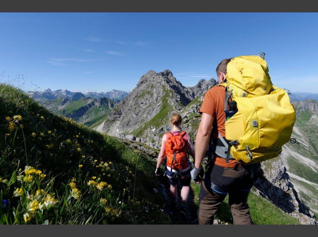 Praxistest in den Alpen: Bergschuhe  35