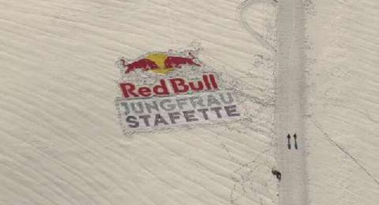 Red Bull Jungfrau-Stafette 2010: Ausdauerathleten, Oldtimer Piloten und Extremsportler kämpfen sich quer durch die Schweiz