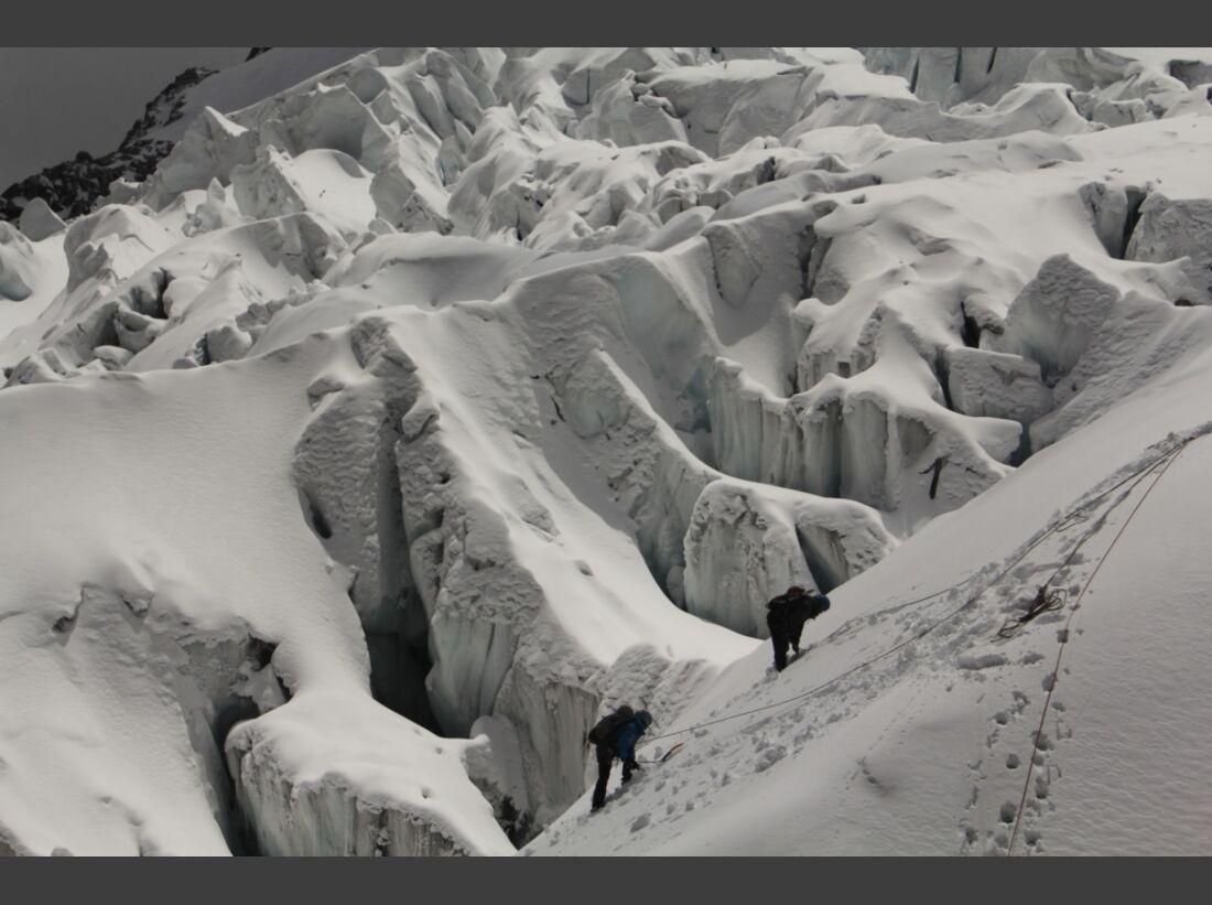 Slackline-Höhenweltrekord in Peru 4