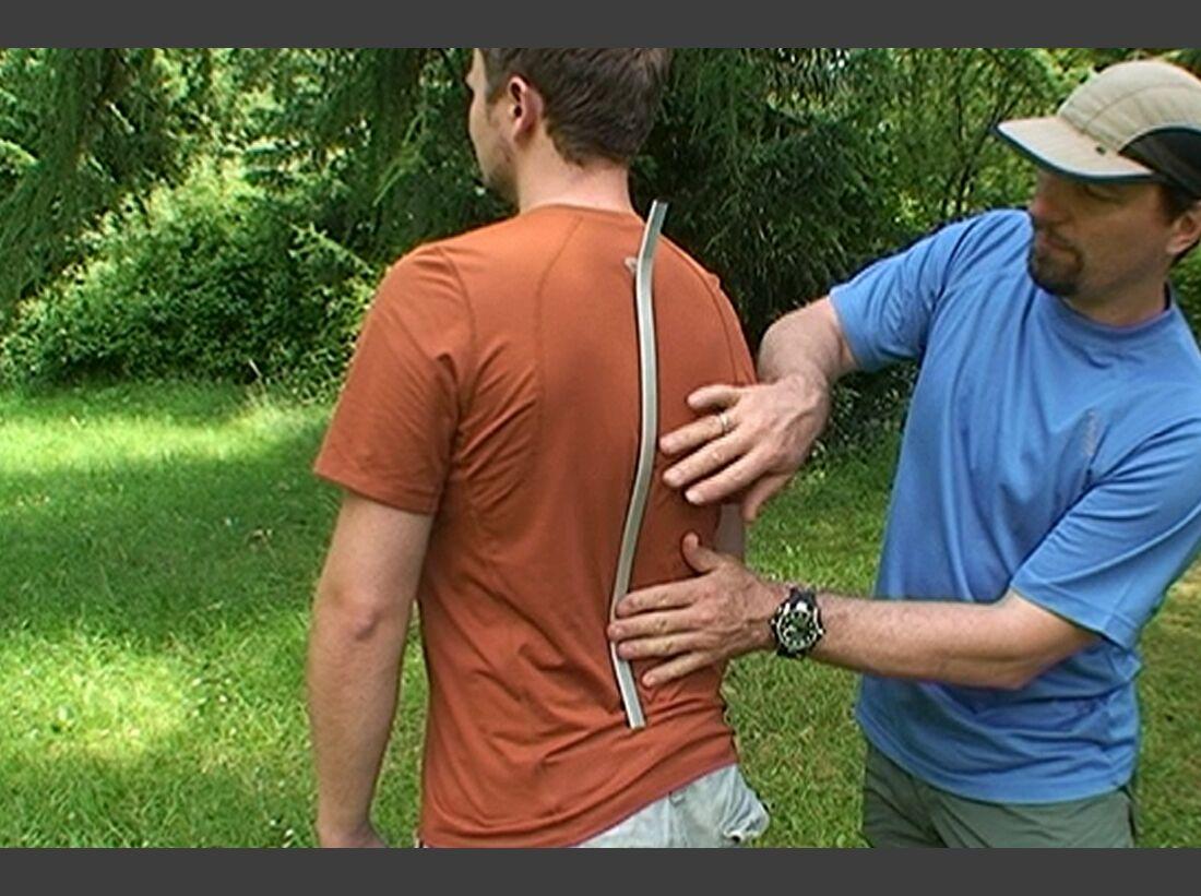 So passen Sie Ihren Rucksack optimal an Rucksäcke anpassen einstellen Ratgeber Alustrebe Trekkingrucksack einstellen