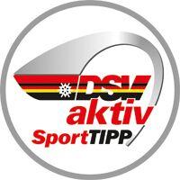 Testsieger-Logo: DSV aktiv SportTIPP 2018