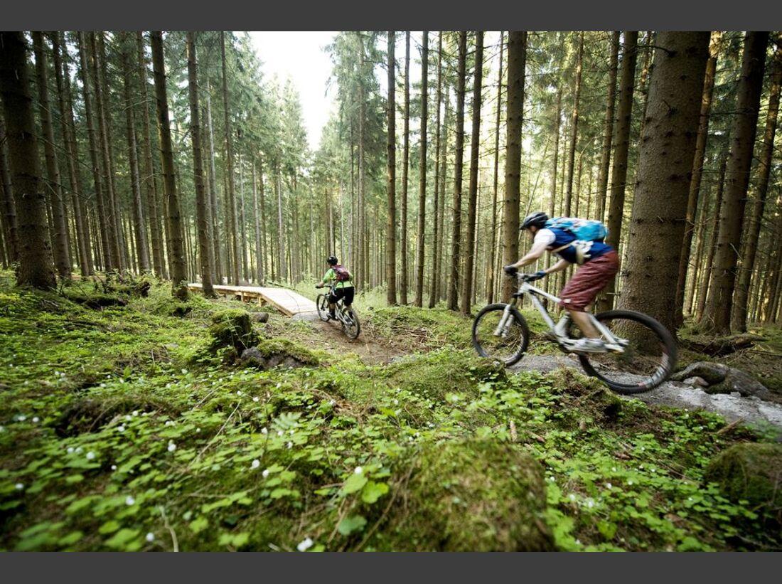 TrailCenter Rabenberg im Erzgebirge - Impressionen 7