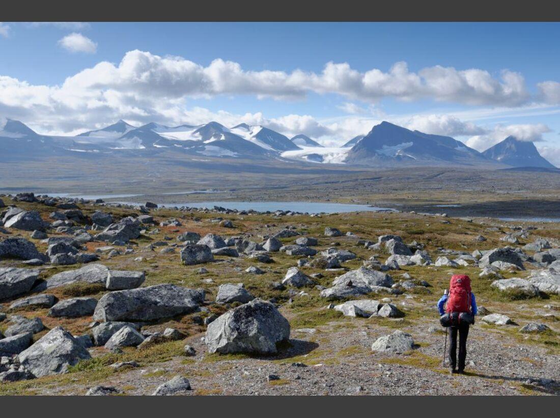 Wildnis-Trekking im Sarek 23